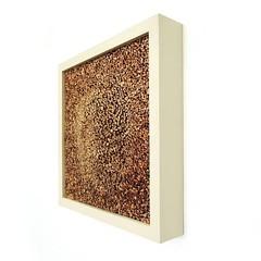 'kilonova' Made from over 4000 hand painted sticks of corrugated cardboard assembled in a hand painted wooden enclosure / frame. 10.3x10.3x2.2 inches. . . . . . . . . . . #art #artist #artoftheday #artwork #artinvestment #artlovers #artfinder #artofinstag (chiselart@ymail.com) Tags: abstractart artist abstractartist absolutart k11 mixmedia collectart artoftheday minimalism geometricart spotmesisters corrugatedcardboard artfinder experimentalartist minimalist cardboard collectorseye art artinvestment mixvancouver sculpture artwork contemporyartist experimentalart artlovers contemporary artofinstagram