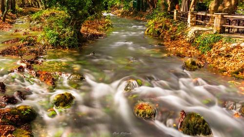 River close to Naoussa, Greece