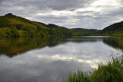 L'étang de Baerenthal (Croc'odile67) Tags: nikon d3300 sigma contemporary 18200dcoshsmc paysage landscape étang eaux ciel cloud sky nature nuage reflexion reflet