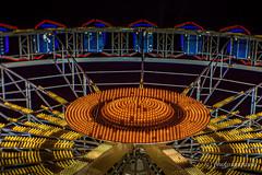 Cannstatter Volksfest - Ferris Wheel (gporada) Tags: nightshot ferriswheel riesenrad cannstattervolksfest germany olympus omdem10markii cctvlens fujian diyadaptedlens