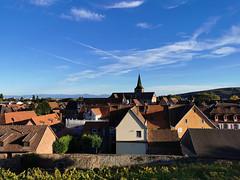 Vue sur les toits de Turckheim (Πichael C.) Tags: turckheim randonnée balade hike alsace 67 visite tourisme village