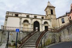 RAGUSA L'AUTRE SICILE 018 (aittouarsalain) Tags: ragusa ragusaibla chiesa église sicilia trinacria scale escalier clocher santamaria architecture baroque barocco
