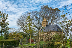As Small As It Gets (Alfred Grupstra) Tags: church architecture religion christianity europe old history cultures tower nature famousplace tree outdoors town sky medieval village buildingexterior summer builtstructure pagan chapel