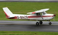 G-BAZS (PrestwickAirportPhotography) Tags: egpk prestwick airport cessena 150 gbazs