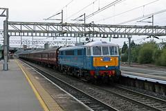 86259 Nuneaton (CD Sansome) Tags: nuneaton station wcml west coast main line 86 86259 al6 br british rail electric blue 1z86 london euston carlisle railtour excursion cumbrian mountain express