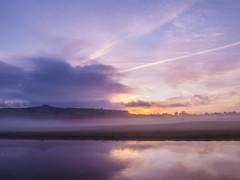morning light river view 1 (strangesimon) Tags: misty sunrise countryside outside landscape morning walk