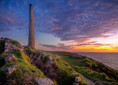 Old Tin Mine (dkphotographs) Tags: botallackmine cornwall landscape nature sunset england coast botallack mine mininglandscape sun clouds sky summer sonyalpha british evening ocean atlanticocean atlantic waves summertime water sundown cliffs sonyalpha7 southwestcoastpath seascape ruin old coastline tin