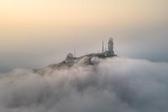 Isolated (William C. Y. Chu) Tags: hongkong taimoshan 大帽山 sunrise dawn aerialview aerial drone dji mavic2pro mavic2 mavic cloud weatherradar radar