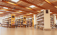 The library (Mussi Katz) Tags: norway library books book shelves reading