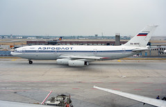 RA-86110 - Frankfurt am Main (FRA) 09.07.1994 (Jakob_DK) Tags: il86 ilyushin ilyushinil86 il86camber ilyushin86 eddf fra flughafenfrankfurtammain frankfurtairport afl aeroflot aeroflotrussianairlines 1994 ra86110
