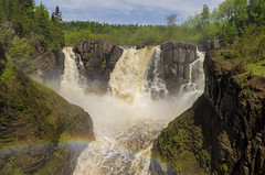 Grand Portage On The Pigeon River II (rschnaible) Tags: minnesota mid west outdoor lake superior circle tour pigeon river water waterfall grand portage landscape