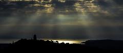IMB_0060 Autumn in Piraeus (foxxyg2) Tags: sun rays sunrays arthens acropolis piraeus sea water reflections aegean sulhouettes sky clouds blue gold ships shipping