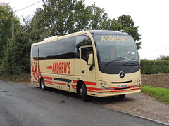 DSCN2967 Andrew's, Tideswell FJ15 EJC (Skillsbus) Tags: england buses coaches andrews tideswell peakdistrict derbyshire mercedes atego plaxton cheetah fj15ejc
