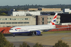 British Airways Boeing 777-200 G-VIIT  - London Gatwick (Neil Pulling) Tags: aircraft london gatwickairport londongatwick sussex westsussex transport england uk britishairways boeing 777200 gviit