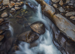 Abstract Stream (Bernie Kasper (6 million views)) Tags: art abstract berniekasper blue color colour creek d750 effect evening family gsmnp greatsmokymountainnationalpark greatsmokymountains hiking light landscape love longexposure nature nikon naturephotography new outdoors outdoor old outside photography raw spring stream travel unitedstates tennesse water