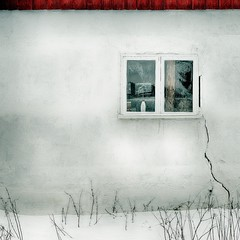 Vintervit (500px refugee) Tags: winter snow ice window wall roof crack void hole red white texture structure space light mood ambiance setting cold exterior outside introspective introspection meditate thought reflect withdrawn enclosed self seclusive reclusive sombre somber contemplate soul insight heart inward examine internal inner sanctuary external outer remote apart clam serene peaceful solitude isolation seclusion withdrawal emptiness desolate quarantine escape exile separation separate asylum refuge private shelter retreat safe waiting frost hibernate hibernation season downtime sleep color colour