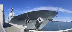 HMAS Brisbane (Jef Poskanzer) Tags: hmasbrisbane ddg 41 airwarfaredestroyer geotagged geo:lat=3780193 geo:lon=12239623 t