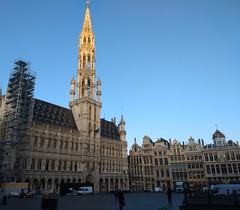 20191010 01 Brussel - Grote Markt (Sjaak Kempe) Tags: 2019 autumn herfst sjaak kempe motorola moto g5 plus belgium belgië belgique brussel bruxelles brussels grote markt grand place stadhuis city hall hôtel de ville