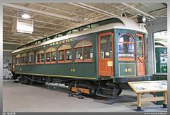 Electric City Trolley Museum (uslovig) Tags: 1907 st louis car company no 46 philadelphia western railway pwr electric city trolley museum association lackawanna county pennsylvania pa usa america amerika