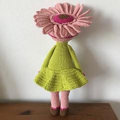 Gemma (MagneticMary) Tags: amigurumi crochet mywork gemma gerbera