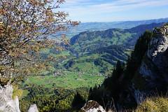 DSC02776 (Bergwandern Alpen) Tags: alpen alps bergwandern hiking tiefblick vorderthal kantonschwyz grossaubrig rämpensee herbst herbststimmung