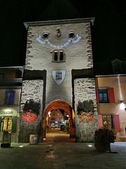 La Porte de France de nuit (Πichael C.) Tags: turckheim randonnée balade hike alsace 67 visite tourisme village