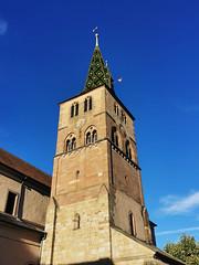 Le clocher de l'Eglise Sainte Anne de Turckheim (Πichael C.) Tags: turckheim randonnée balade hike alsace 67 visite tourisme village