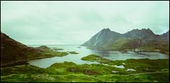 359 6x12 01 (rubbernglue) Tags: lofoten norway norge kodakektar 6x12 toyo45aii nikkorsw 2016 mountains view landscape rawtherapee analog filmphotography filmexif analogphotography nordland