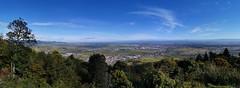 Panorama sur la plaine d'Alsace et Colmar depuis le Château du Hohlandsbourg (Πichael C.) Tags: turckheim randonnée balade hike alsace 67 visite tourisme village