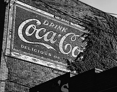 Things Go Better With Coke (e r j k . a m e r j k a) Tags: pennsylvania butler zelienople ghost sign cocacola coke pa68 i79pa us19 erjk