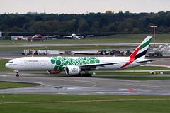 Emirates | B777-300 | A6-EPL | HAM | 12.10.2019 (Norbert.Schmidt) Tags: ham dubai a6epl expo2020 b777300 b777 boeing hamburgairport emirates