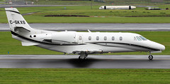 C-GKXS (PrestwickAirportPhotography) Tags: egpk prestwick airport cessena citation 560 cgkxs