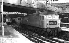 Class 47 47049 on the Nuneaton drags Birmingham New Street 1976. (flashbangmilly) Tags: 47049 wolverhampton euston nuneaton drags