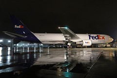 N177FE FedEx Express 767-3S2F(ER) at KCLE (GeorgeM757) Tags: n177fe fedexexpress 7673s2fer freighter aircraft aviation airplane airport airfreight cargo 767 kcle clevelandhopkins georgem757