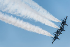 f/a-18 hornets (pbo31) Tags: sanfrancisco california fleetweek nikon d810 color october 2019 boury pbo31 blueangels flight aviation navy naval plane blue maneuver hornet fa 18 smoke vapor trail
