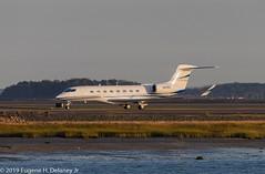VISA, Wilmington Trust Co Trustee, N476V, 2017 Gulfstream Aerospace GVI (G650ER), MSN 6300 (Gene Delaney) Tags: visa wilmingtontrustcotrustee n476v 2017gulfstreamaerospacegvig650er msn6300