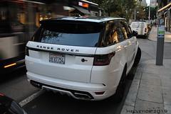 Land Rover Range Sport SVR - USA, California (Helvetics_VS) Tags: licenseplate usa california