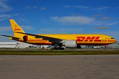 D-AALL - DHL  (Aerologic - Bryan Adams - 50 Y) (Steelhead 2010) Tags: dhl aerologic boeing b777 b777200f yyz cargo freighter dreg daall bryanadams