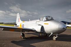 Jet Provost T.3 XM424 (Rod Martins) Tags: 28thseptember2019 gbwds jetprovostt3 northweald xm424
