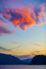 3000 (stevenbulman44) Tags: shuswap color landscape canon lseries summer cloud sunset 70200f28l filter tripod britishcolumbia outdoor sky blue island copperisland water lake