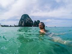 (Miguel Angel Fortunato) Tags: tailandia krabi thailand mujer hermosa woman aonang podaisland phranang tonsay sudesteasiático