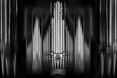 Pipelines (HWHawerkamp) Tags: island reykjavik church organ pipes monochrome graphics abstract creativeedit travel