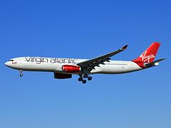 F-WWCG Airbus A330 Virgin Atlantic (@Eurospot) Tags: lfbo toulouse blagnac virginatlantic airbus a330 a330300 1341 fwwcg gvwag