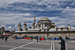 Beyazıt Camii / Beyazit Mosque in Istanbul (JB Fotofan) Tags: beyazit sky himmel lx100m2 lumix cityscape mosque moschee istanbul