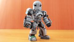 Lego Iron Man Mark 1 Chibi (hachiroku24) Tags: lego iron man mark armor moc chibi
