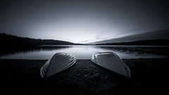 Until next year... (jarnasen) Tags: d810 nikon irix11mm irix nature outdoor landscape landskap lake longexposure le lakescape light bnw mood moody blackandwhite wideangle nordiclandscape sweden sverige scandinavia sky sunrise smooth composition geo geotag gallery järnåsen jarnasen copyright calm noiretblanc nopeople boats panorama ultrawideangle