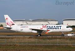 F-WWBY Airbus A320 Neo Jet Smart (@Eurospot) Tags: ccawk fwwby airbus a320 neo 9328 toulouse blagnac jetsmart