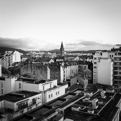 DSCF1463 (jerome_petitpas) Tags: grenoble noiretblanc blackandwhite bw x100f fujiflim fuji streetphotography cycle