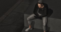 Without You (akif611 Resident) Tags: equal10 lob locktuft exmachina pants sweater hair ebento native shoes