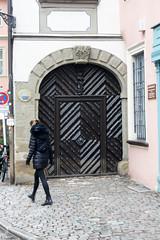 Karolinenstraße, Bamberg, Germany (kate223332) Tags: bamberg bavaria germany oldcity door entry gateway portal deutschland